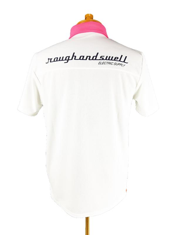 rough&swell ラフアンドスウェル JASON POLO ポロシャツ ホワイト RSM-21009 / ゴルフウェア メンズ ラフ&スウェル