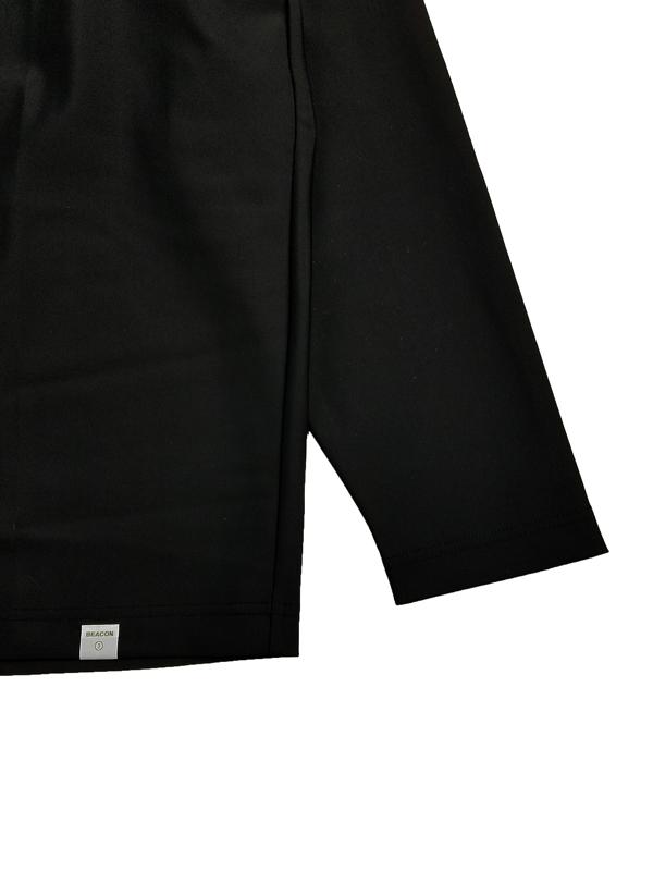 kolor BEACON カラービーコン ロングカットソー ブラック 21WBM-T07238