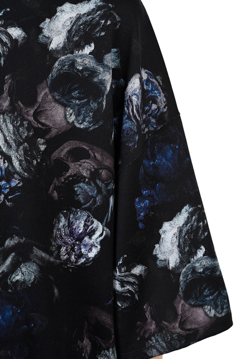 LAD MUSICIAN ラッドミュージシャン SUPER BIG T-SHIRT スーパービッグTシャツ ブルー 2220-721