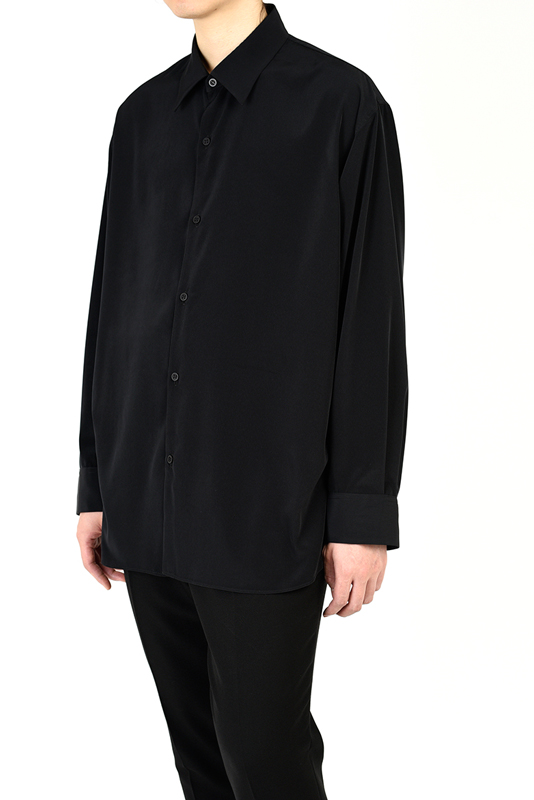 LAD MUSICIAN ラッドミュージシャン BIG SHIRT ビッグシャツ ブラック 2121-103