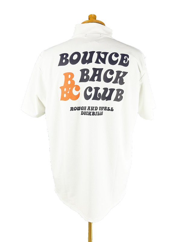 rough&swell ラフアンドスウェル B.B.C. MOCK モックネック ホワイト RSM-21048 / ゴルフウェア メンズ ラフ&スウェル
