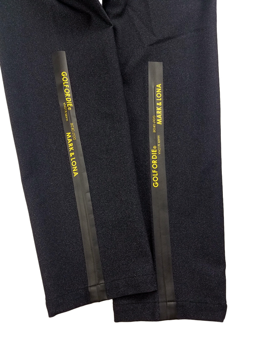 【木村拓哉さん着用モデル】MARK&LONA マークアンドロナ We'll be Stretch Trouser | MEN スラックスパンツ ブラック MLM-0C-AT06