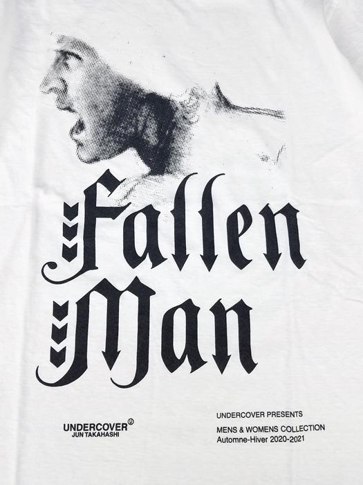 UNDERCOVER アンダーカバー TEE Fallen Man Tシャツ ホワイト UCZ3803