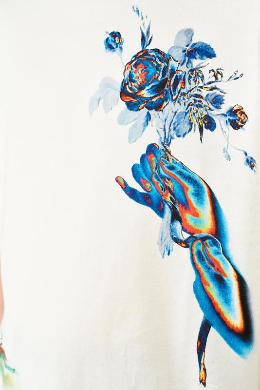 LAD MUSICIAN ラッドミュージシャン BIG T-SHIRT ビッグTシャツ ホワイト 2121-715