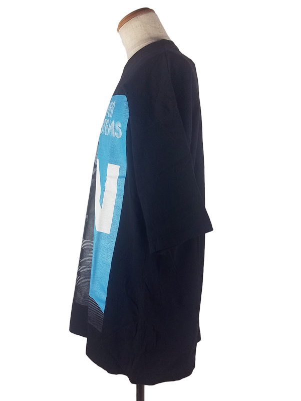 UNDERCOVER アンダーカバー BIGTEE UC SOUNDSYSTEMS SN ビッグTシャツ ブラック UCY4893-1