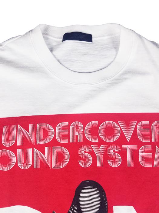 UNDERCOVER アンダーカバー BIGTEE UC SOUNDSYSTEMS SN ビッグTシャツ ホワイト UCY4893-1