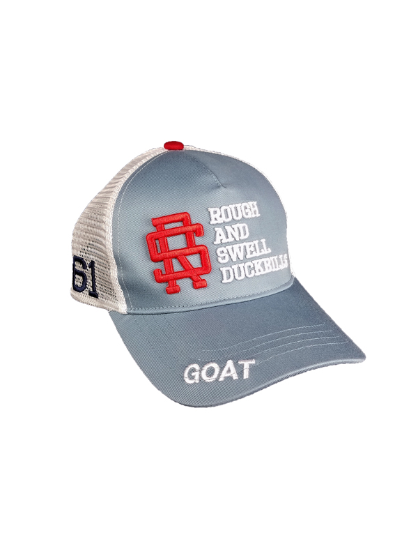 rough&swell ラフアンドスウェル TOUR MESH CAP キャップ ブルーグレー RSA-21007 / ゴルフウェア メンズ ラフ&スウェル