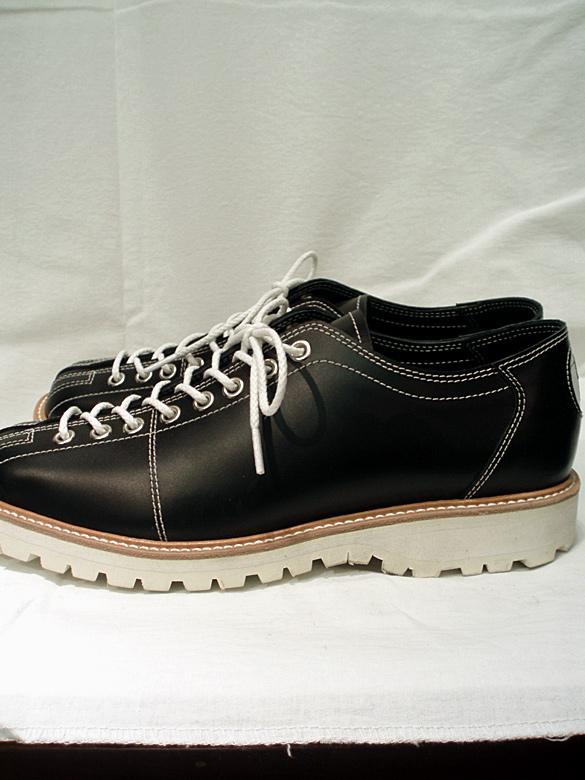 MIHARA YASUHIRO ミハラヤスヒロ 93250800 Bowling Shoes (TANK SOLE) ボーリングシューズ ブラック miharayasuhiro