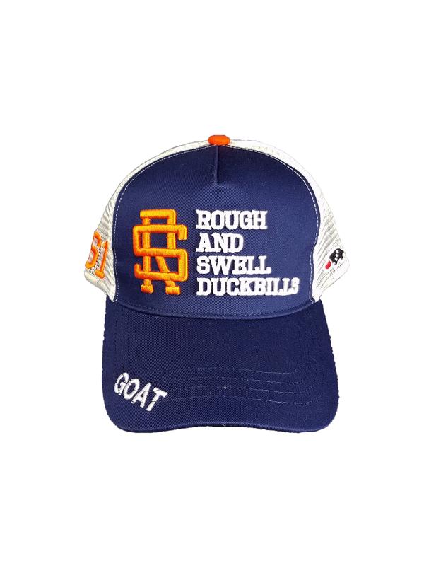 rough&swell ラフアンドスウェル TOUR MESH CAP キャップ ネイビー RSA-21007 / ゴルフウェア メンズ ラフ&スウェル