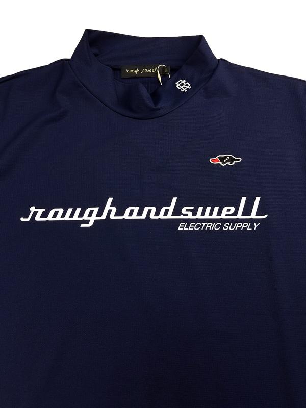rough&swell ラフアンドスウェル ELECTRIC MOCK モックネック ネイビー RSM-21046 / ゴルフウェア メンズ ラフ&スウェル