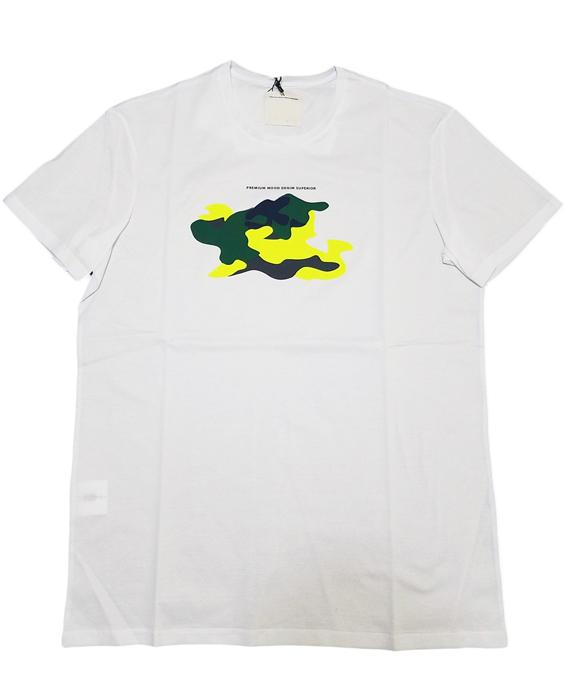 P.M.D.S. ピーエムディーエス Tシャツ ホワイト 910591384146 RICK/810TS / PMDS