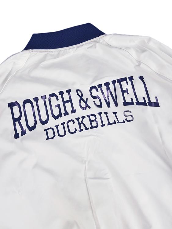rough&swell ラフアンドスウェル レッドリブジャケット ホワイト RED RIB JACKET  RSM-19241 / ラフ&スウェル ゴルフウェア メンズ