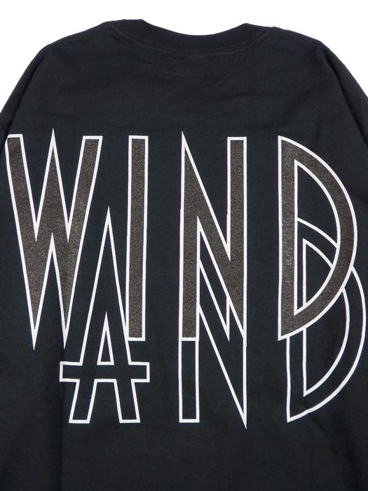WIND AND SEA ウィンダンシー SEA (wavy) L/S T-SHIRT ロングスリーブTシャツ ブラック WDS-20A-TPS-06