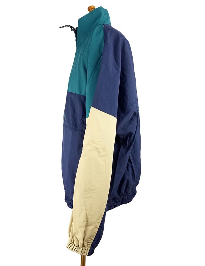 WIND AND SEA ウィンダンシー WDSトラックジャケット ネイビー/グリーン WDS TRUCK JACKET WDS-19A-JK-03