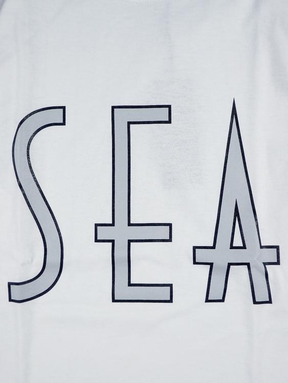 WIND AND SEA ウィンダンシー SEA (wavy) L/S T-SHIRT ロングスリーブTシャツ ホワイト WDS-20A-TPS-06