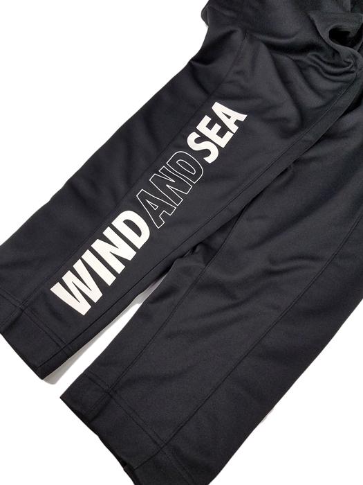 WIND AND SEA ウィンダンシー WDSジャージーパンツ ブラック WDS JERSEY PT WDS-19A-PT-09