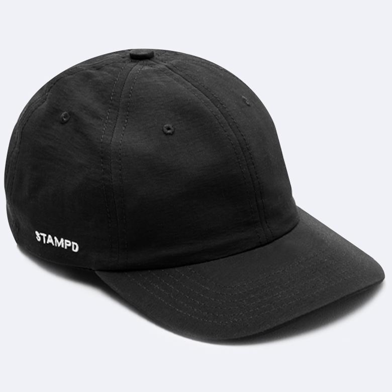 STAMPD スタンプド Matt Nylon Sport CAP キャップ ブラック SLA-M2247HT