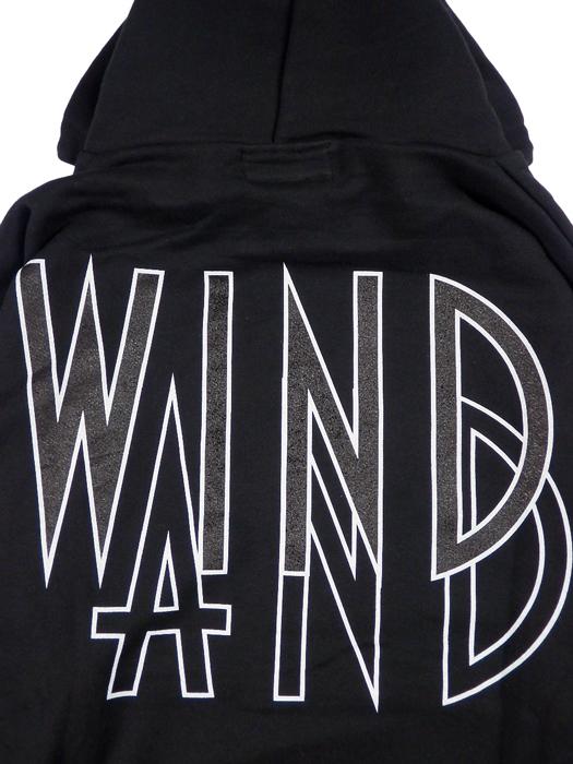 WIND AND SEA ウィンダンシー SEA (wavy) HOODIE パーカー ブラック WDS-20A-TPS-05