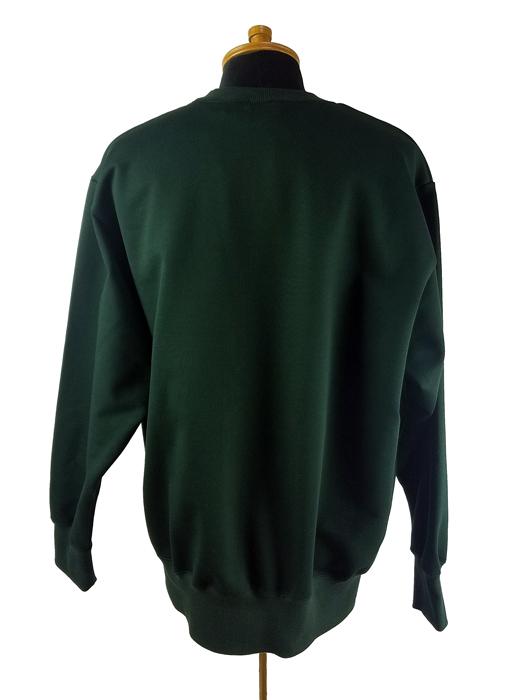 kolor BEACON カラービーコン 裏毛スウェット ディープグリーン 21SBM-T05232