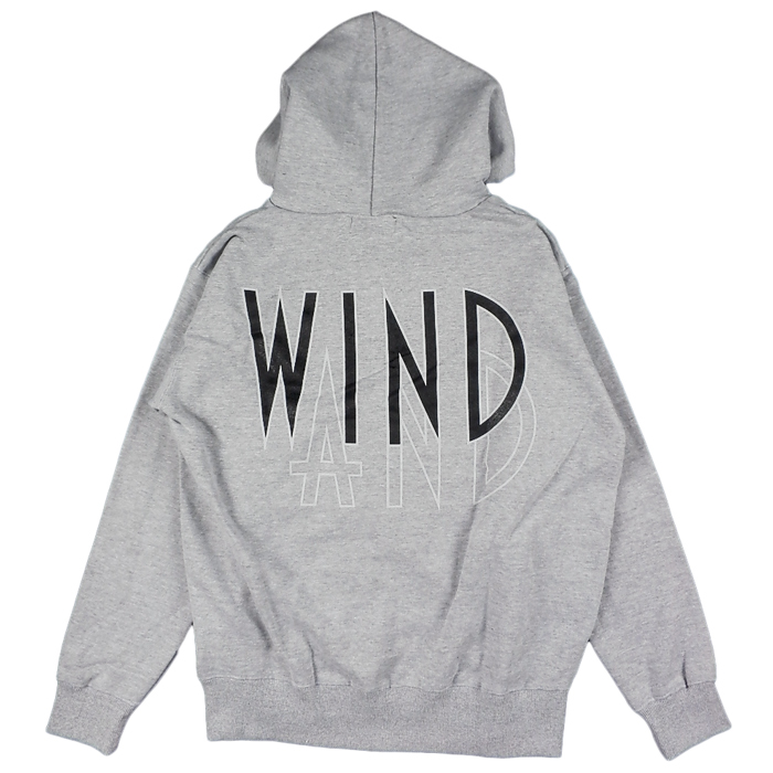 WIND AND SEA ウィンダンシー SEA (wavy) HOODIE パーカー グレー WDS-20A-TPS-05