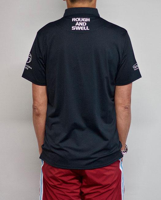 rough&swell ラフアンドスウェル ポロシャツ ブラック 2019 TOUR POLO RSM-19001 / ラフ&スウェル ゴルフ メンズ