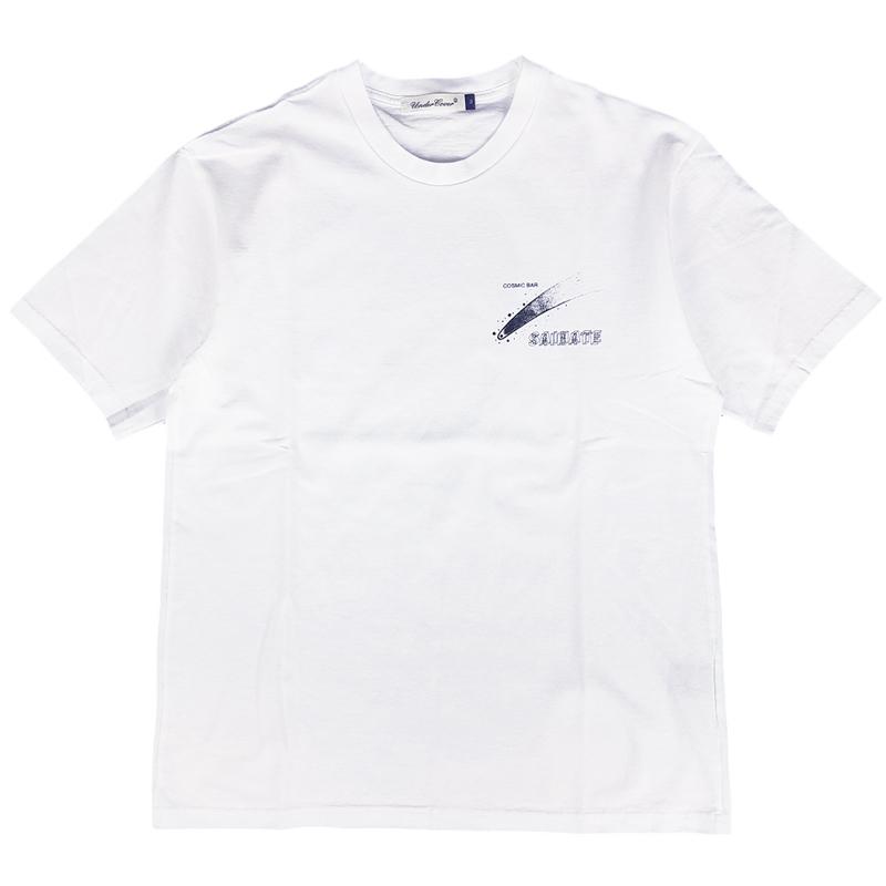 UNDERCOVER アンダーカバー TEE COSMIC BAR SAIHATE Tシャツ ホワイト UCY3811