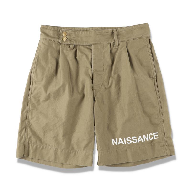 NAISSANCE ネサーンス GURKHA SHORTS KHAKI 21S-NSA-PT-07