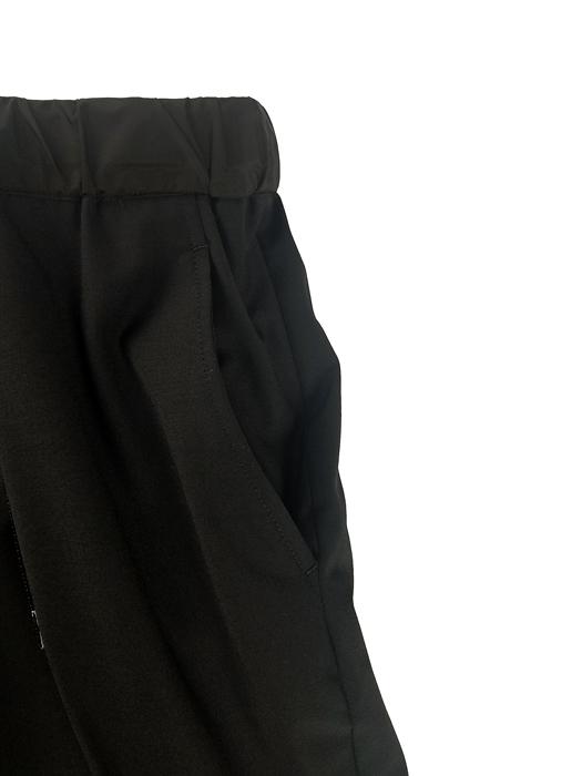 kolor BEACON カラービーコン ウールトロパンツ ブラック 21SBM-P07137