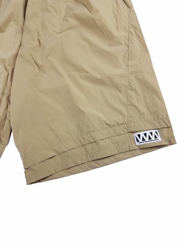 White Mountaineering Repose Wear ホワイトマウンテニアリング LAYERED EASY HALF PANTS ショートパンツ ベージュ RW2171404