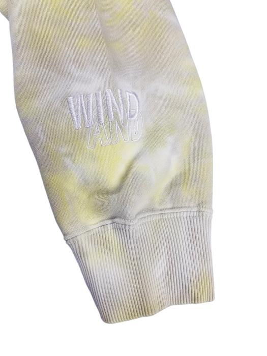 WIND AND SEA ウィンダンシー SEA (tie-dye) HOODIE タイダイ プルオーバーパーカー イエロー×グレー WDS-20A-TPS-10