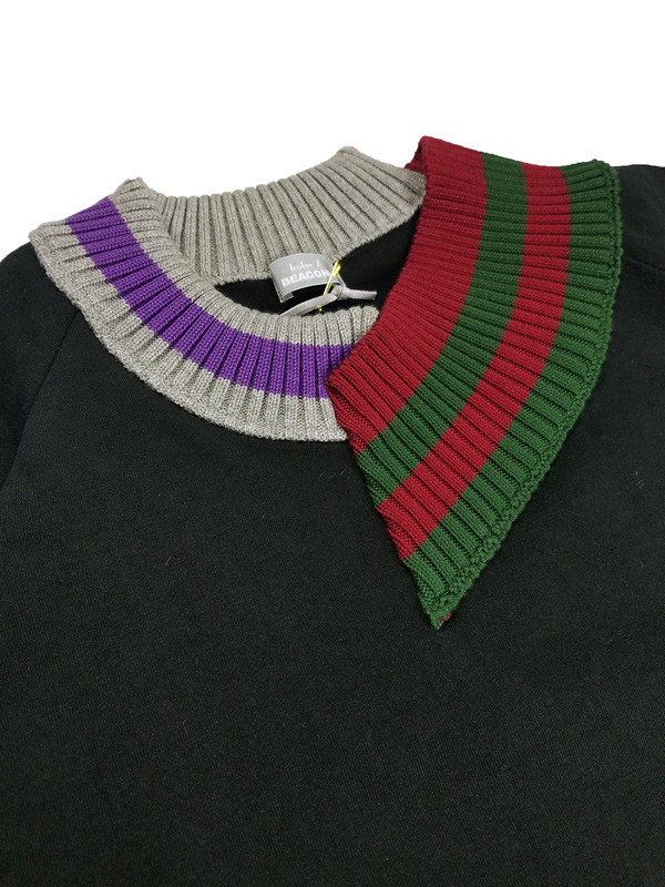 kolor BEACON カラービーコン 度詰め天竺 Tシャツ ブラック 21SBM-T01231