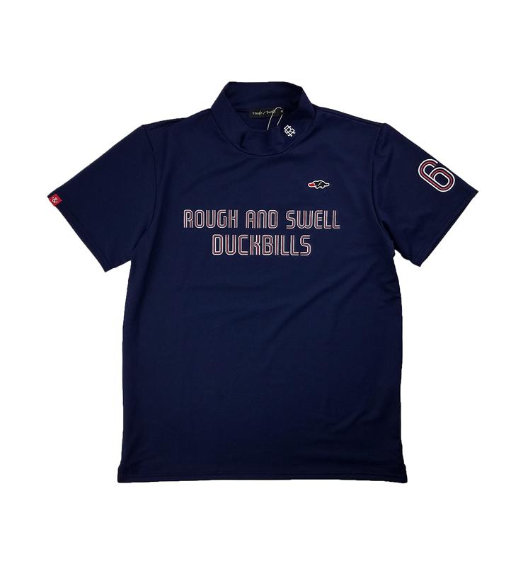 rough&swell ラフアンドスウェル LYON MOCK モックネック ネイビー RSM-21045 / ゴルフウェア メンズ ラフ&スウェル