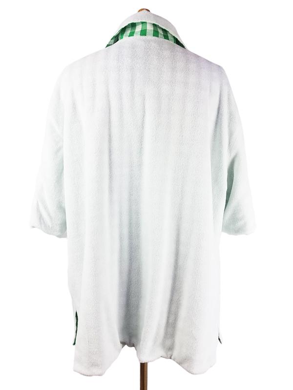 NAISSANCE ネサーンス GINGHAM PILE REVERSIBLE SHIRT ギンガム パイル リバーシブルシャツ グリーン 20S-NSA-SH-05