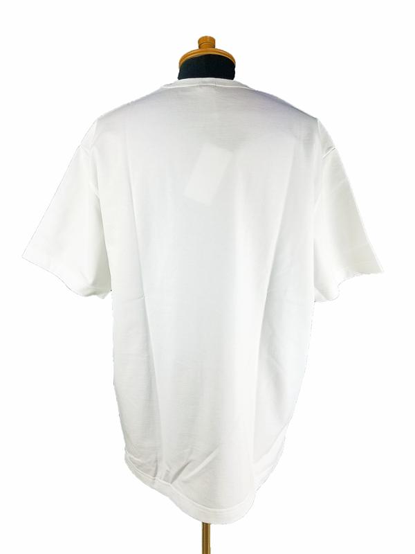 kolor BEACON カラービーコン 度詰め天竺 Tシャツ ホワイト 21SBM-T02231