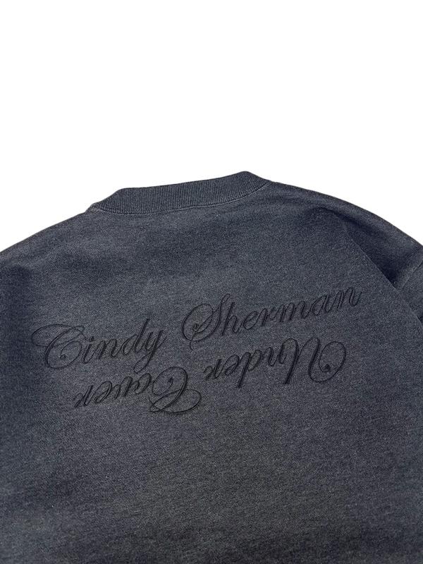 UNDERCOVER アンダーカバー SWEAT Cindy print #21 [Cindy Sherman] スウェット プルオーバー Tチャコール UCY4802-4