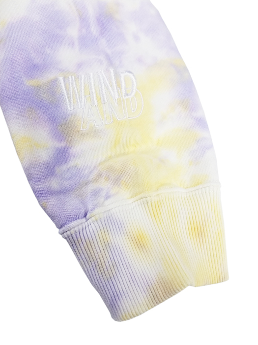 WIND AND SEA ウィンダンシー SEA (tie-dye) HOODIE タイダイ プルオーバーパーカー パープル×イエロー WDS-20A-TPS-10