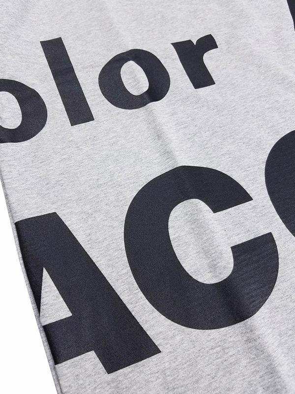 kolor BEACON カラービーコン 度詰め天竺 Tシャツ ライトグレー 21SBM-T02231