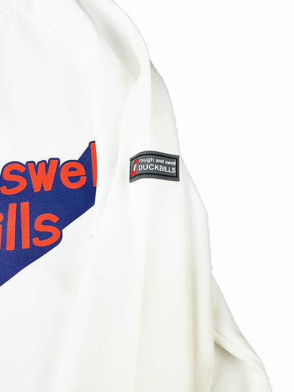 rough&swell ラフアンドスウェル 3D LOGO  SWEAT スウェット ホワイト RSM-21201 / ゴルフウェア メンズ ラフ&スウェル