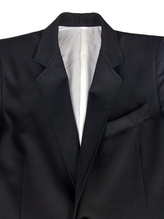 sulvam サルバム classic short jacket クラシックショートジャケット ブラック J50-100