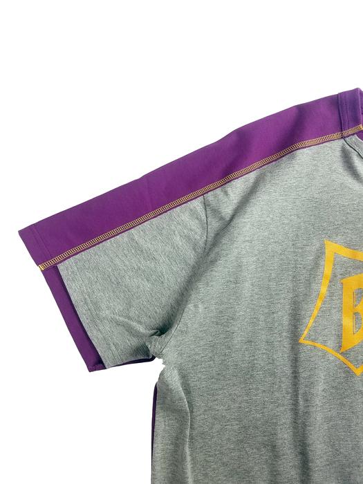 kolor BEACON カラービーコン 30/1ソフト天竺 Tシャツ グレー 21SBM-T04240