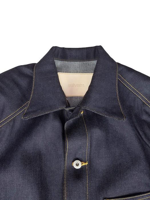 sulvam サルバム Mens denim jacket デニムジャケット インディゴ SM-J09-090