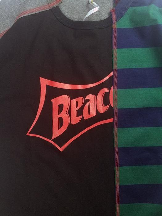 kolor BEACON カラービーコン 30/1ソフト天竺 Tシャツ ブラック 21SBM-T04240