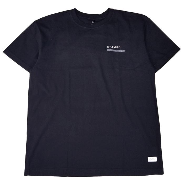 STAMPD スタンプド Sail Tee Tシャツ ブラック SLA-M2189TE