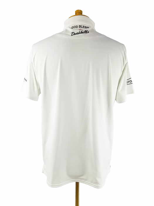rough&swell ラフアンドスウェル 2021 TOUR POLO ポロシャツ ホワイト RSM-21001 / ゴルフウェア メンズ ラフ&スウェル