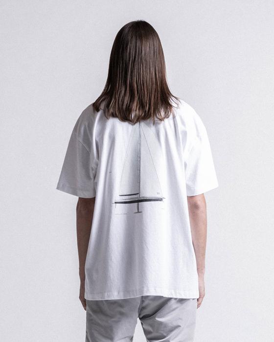 STAMPD スタンプド Sail Tee Tシャツ ホワイト SLA-M2189TE