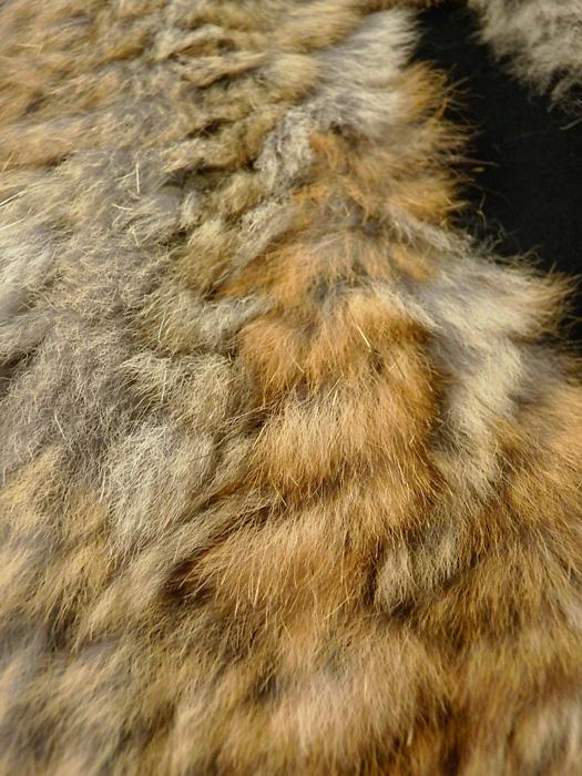 .efilevol エフィレボル ラビットファーブルゾン ブラック Fur Paraffin Parka efiLPTN-JK03u / パーカー ミリタリー