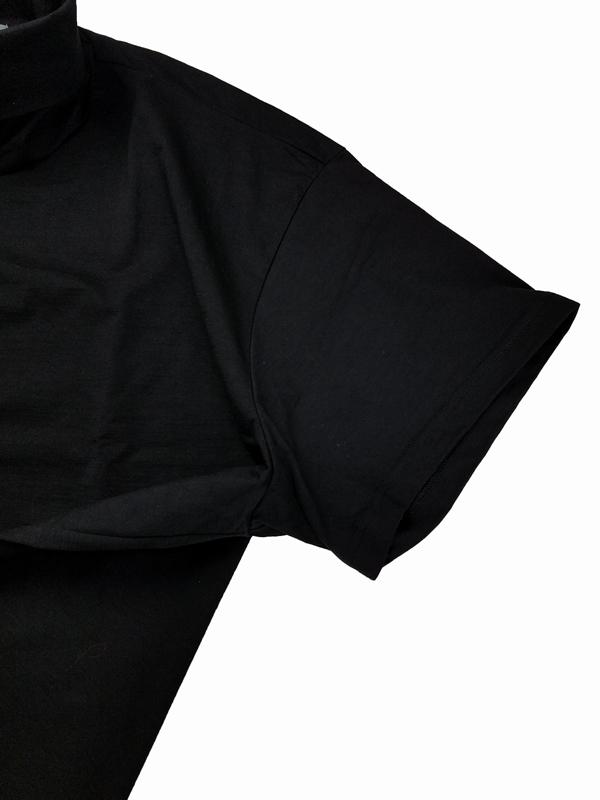 kolor BEACON カラービーコン ペーパー天竺 ブラック 21SBM-T10237