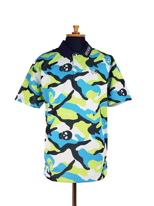 【木村拓哉さん着用モデル】MARK&LONA マークアンドロナ Gauge Polo | MEN ポロシャツ ライトブルー MLM-1B-AP30