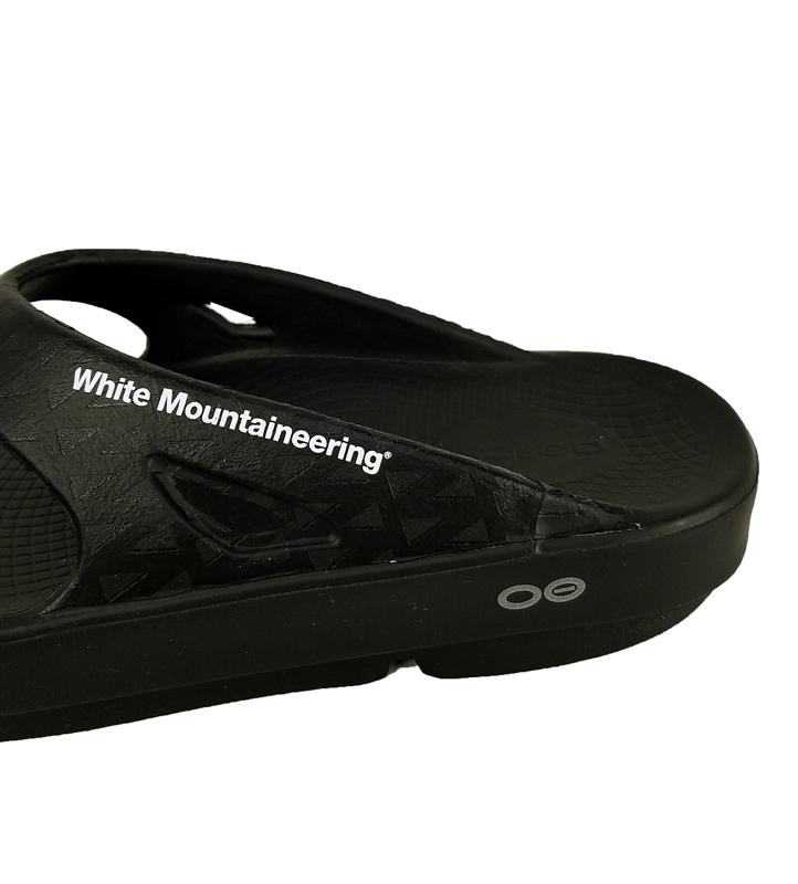 White Mountaineering ホワイトマウンテニアリング WM x OOFOS SANDAL サンダル ブラック WM2171823