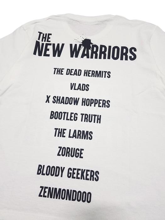 UNDERCOVER アンダーカバー TEE THE NEW WARRIORS ホワイト UCW3810 /Tシャツ